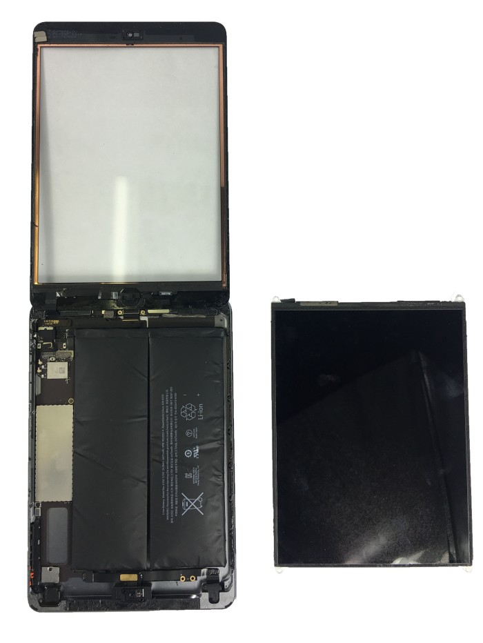 iPad-mini-digitiger-opened-reveling-swollen-battery-for-replacement