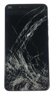 ZTE-mobile-phone-screen-cracked