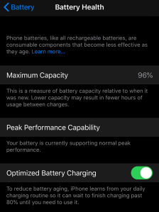 iPhone battery check and repair in Dallas