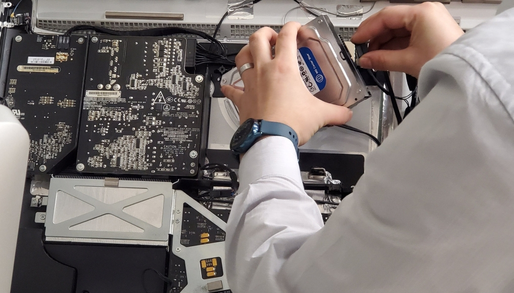 iMac Hard Drive Replacement AND data recovery service dallas
