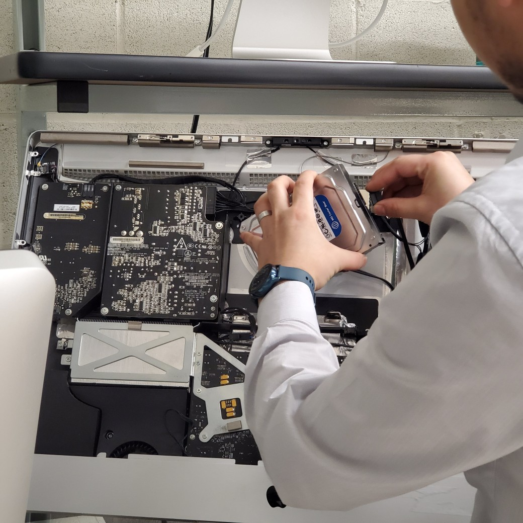 iMac Hard Drive Replacement dallas