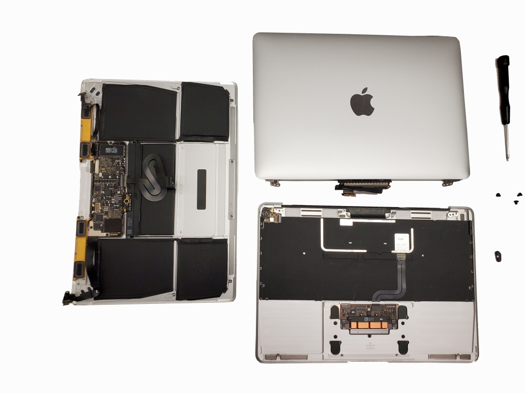 MacBook teardown