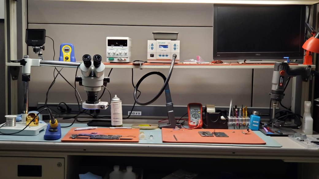 Computer and MacBook Repair Workstation Dallas