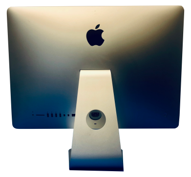 Back view or Apple iMac