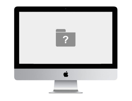 iMac question mark folder repair Dallas