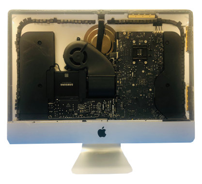APple iMac Retina Samsung SSD Installation