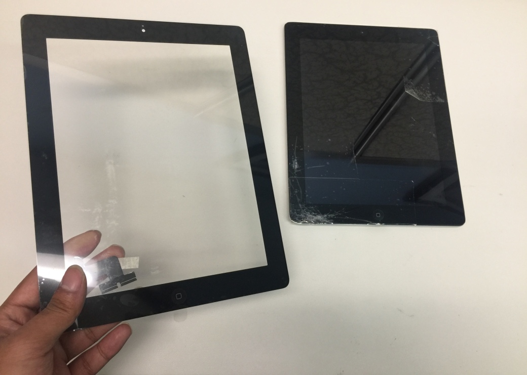 iPad screen repair service Dallas