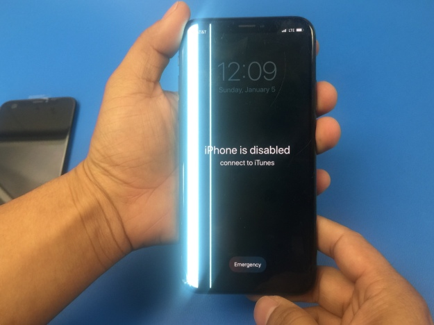 iPhone is disabled repair Dallas