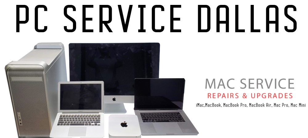 PC Service Dallas Mac repair service