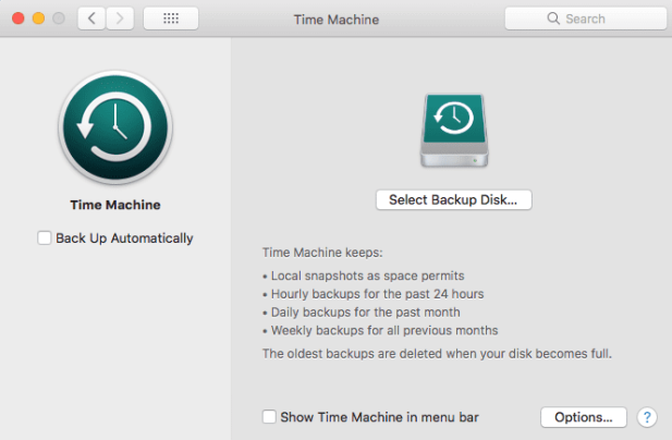 Time-Machine BackUp and Restore Dallas