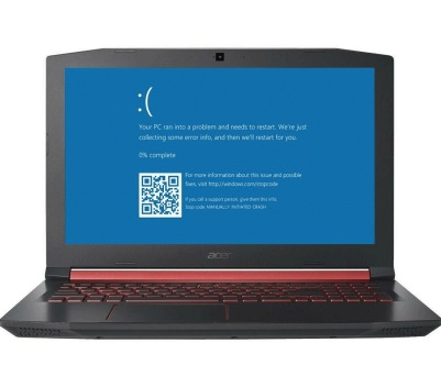 Acer Laptop Blue Screen Error Service Dallas
