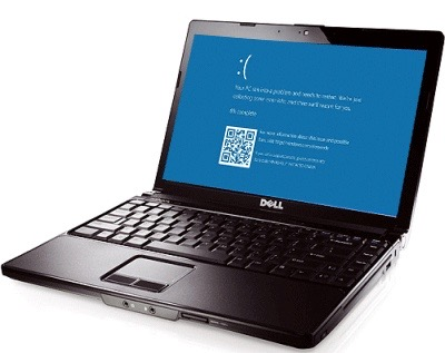 Dell laptop computer blue screen repair service Dallas texas