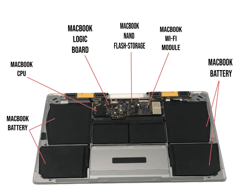 MacBook logic board repair service Highland Park