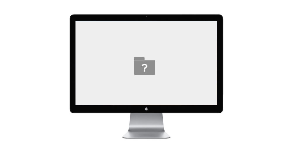 thunderbolt-display-question-mark-folder-repair-service-irving-texas