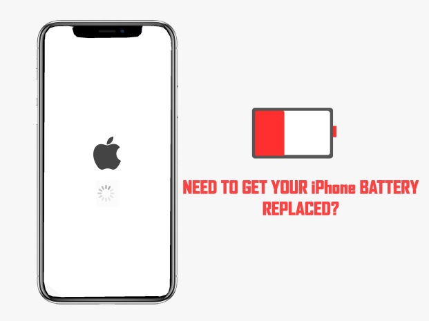 iPhone battery replacement near Dallas Design District