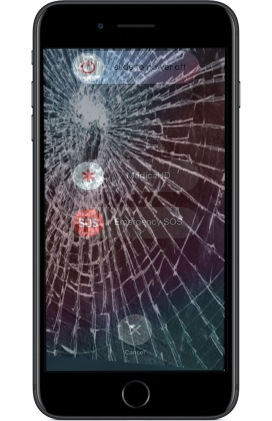 iPhone crack screen repair near me Dallas Design District