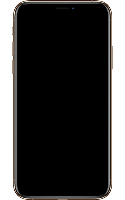 iPhone X XS XS Max not turning on