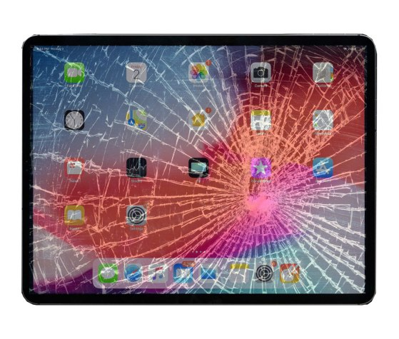 iPad Pro cracked screen repair Dallas